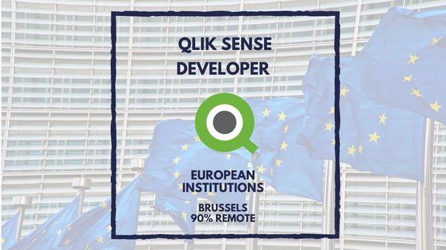 IT Job - QlikSense Developer at European Institutions - Sprint CV