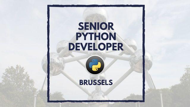 IT Job - Senior Python Developer - Sprint CV