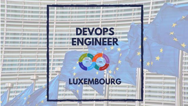 IT Job - DevOps Engineer at European Commission - Sprint CV