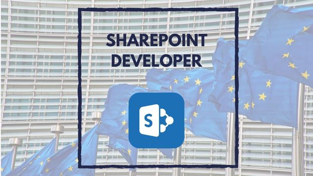 IT Job - Sharepoint Developer at European Commission - Sprint CV
