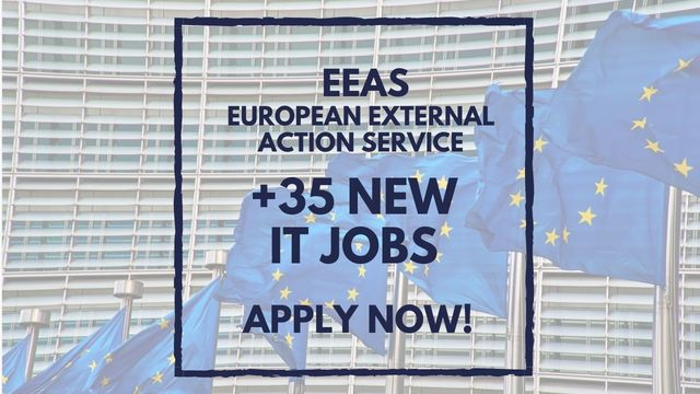 IT Job - More than 35 new IT jobs at EEAS - Apply Now! - Sprint CV