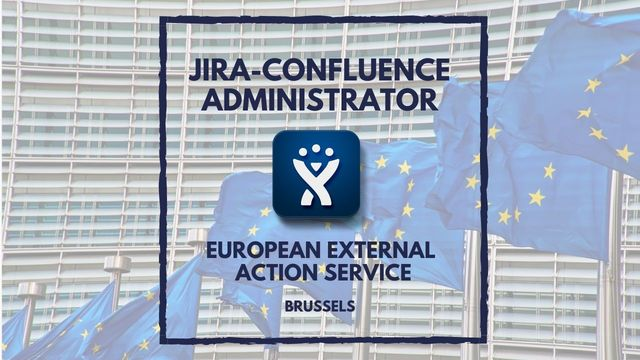 IT Job - Jira - Confluence Administrator at EEAS - Sprint CV