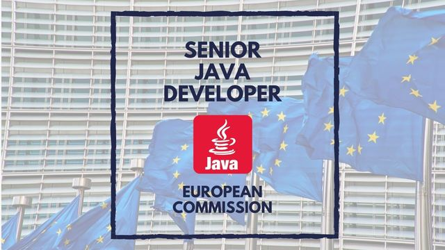 IT Job -  Senior Java Developer at the European Commission - Sprint CV