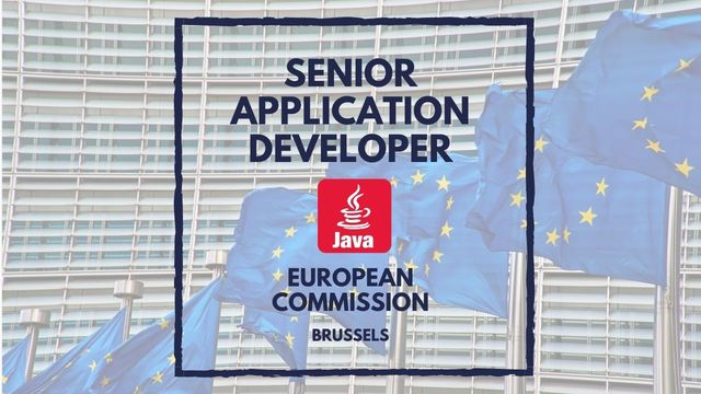 IT Job - Senior Application Developer at the European Commission - Sprint CV