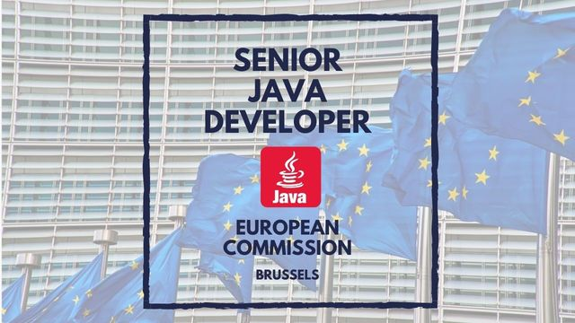 IT Job - Senior Java Developer at the European Commission - Sprint CV