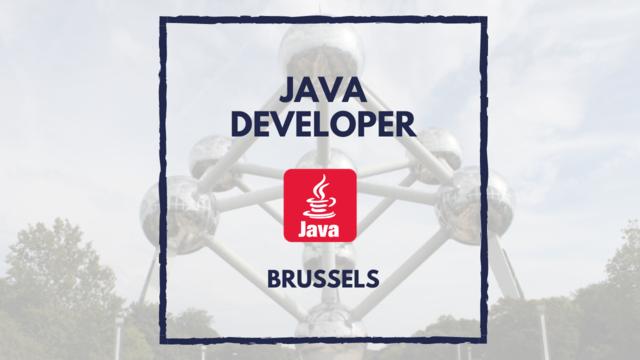 IT Job - Java Developer in Brussels - Sprint CV