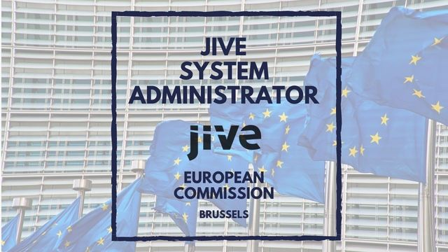 IT Job - Jive System Administrator at European Commission - Sprint CV
