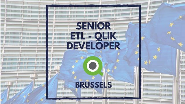 IT Job - Senior ETL/Qlikview Developer at European Commission - Sprint CV
