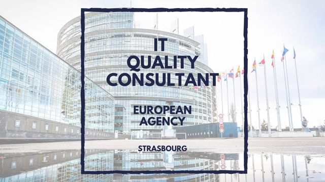 IT Job - IT Quality Consultant at euLisa - Sprint CV
