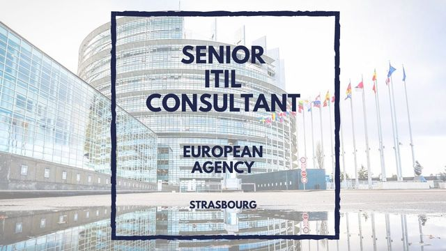IT Job - Senior ITIL Consultant at euLisa - Sprint CV
