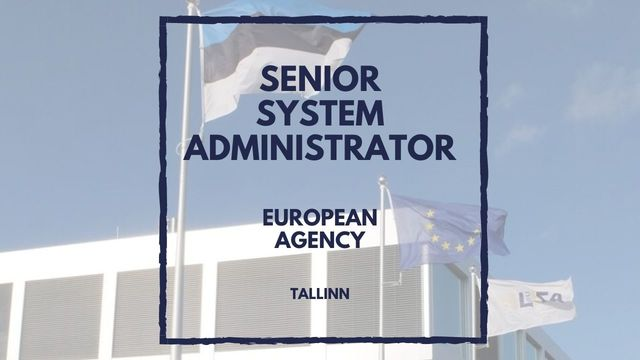 IT Job - Senior System Administrator at euLisa   - Sprint CV