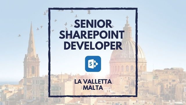 IT Job - Senior SharePoint Developer at Malta for EASO - Sprint CV