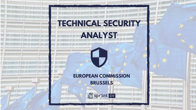 IT Job - Technical Security Analyst at European Commission - Sprint CV