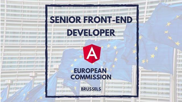 IT Job - Senior Front-end Developer at European Commission - Sprint CV