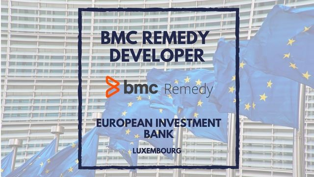 IT Job - BMC Remedy Developer at European Investment Bank - Luxembourg - Sprint CV