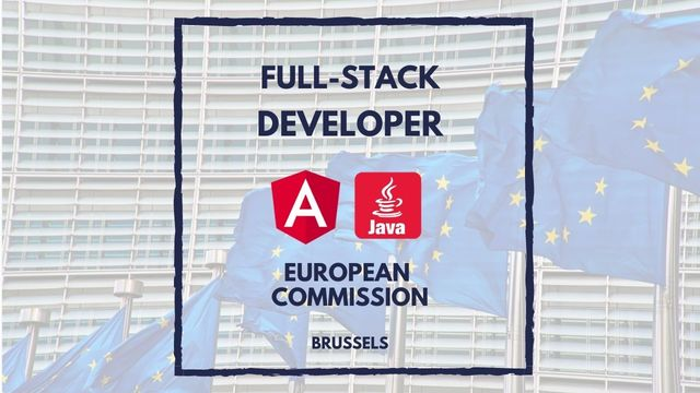 IT Job - Java Full-stack Developer at European Commission - Sprint CV