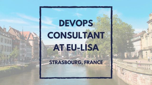 IT Job - DevOps Consultant at eu-LISA  - Sprint CV
