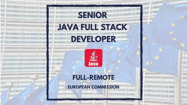 IT Job - Senior Java Full Stack Developer - Full Remote - Sprint CV