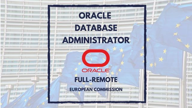 IT Job - Oracle Database Administrator (DBA) at the European Commission - Sprint CV